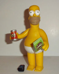 "Simpsons (TV) – World of Springfield – Wave 4 – Casual Homer Interactive 5"" Figure"