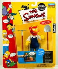 "Simpsons (TV) – World of Springfield – Wave 4 – Grounds-Keeper Willie Interactive 5"" Figure"
