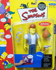 "Simpsons (TV) – World of Springfield – Wave 6 – Snake Interactive 5"" Figure"