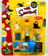 "Simpsons (TV) – World of Springfield – Wave 7 – Cletus Interactive 5"" Figure"