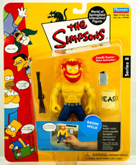 "Simpsons (TV) – World of Springfield – Wave 8 – Ragin' Willie Interactive 5"" Figure"