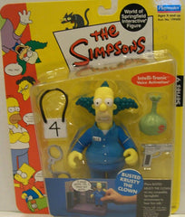 "Simpsons (TV) – World of Springfield – Wave 9 – Busted Krusty the Clown Interactive 5"" Figure"
