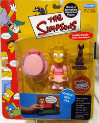 "Simpsons (TV) – World of Springfield – Wave 9 – Sunday Best Lisa Interactive 5"" Figure"