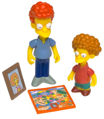 "Simpsons (TV) – World of Springfield – Wave 9 – Rod & Todd Flanders Interactive 5"" Figures"