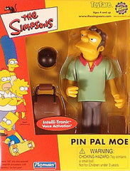 "Simpsons (TV) – World of Springfield – ToyFare / Wizard Exclusive – Pin Pal Moe Interactive 5"" Figure"
