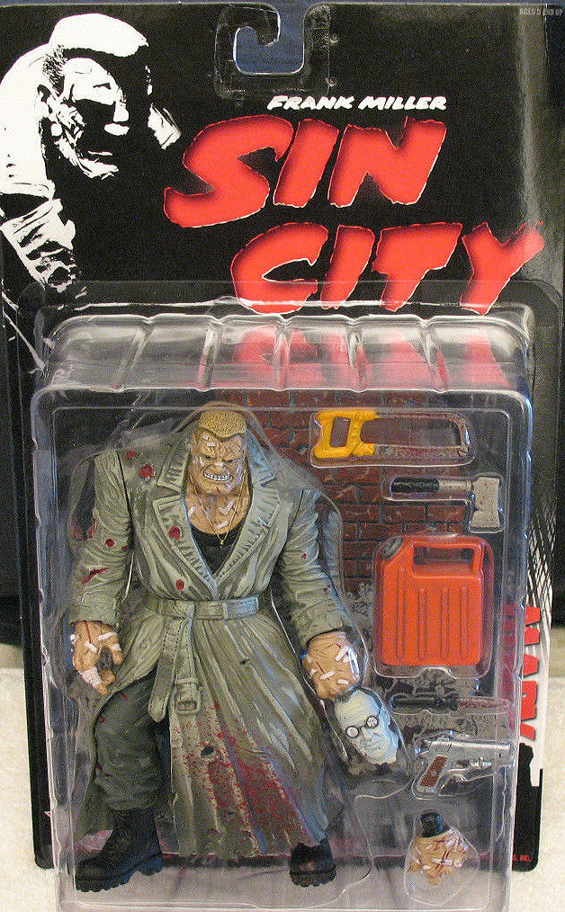"Sin City Series 1 – Marv 6"" Figure (Regular Color Version)"