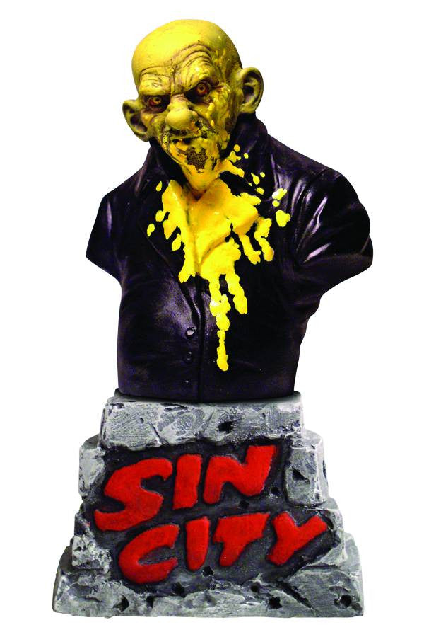 "Sin City (Film) – Sin City Legends – That Yellow Bastard Bust (Variant ""Bloody"" Edition)"