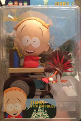 "South Park (TV) – Series 2 – Timmy 5"" Figure with Gobbles Figure"