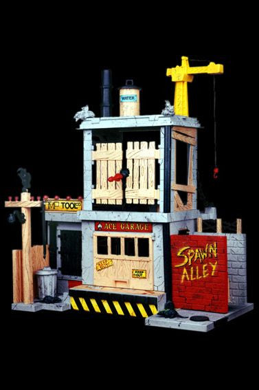 Spawn – Series 1 – Spawn Alley Action Playset