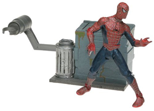 "Spider-Man (Film) – Series 2 – Leaping Spider-Man 6"" Figure"