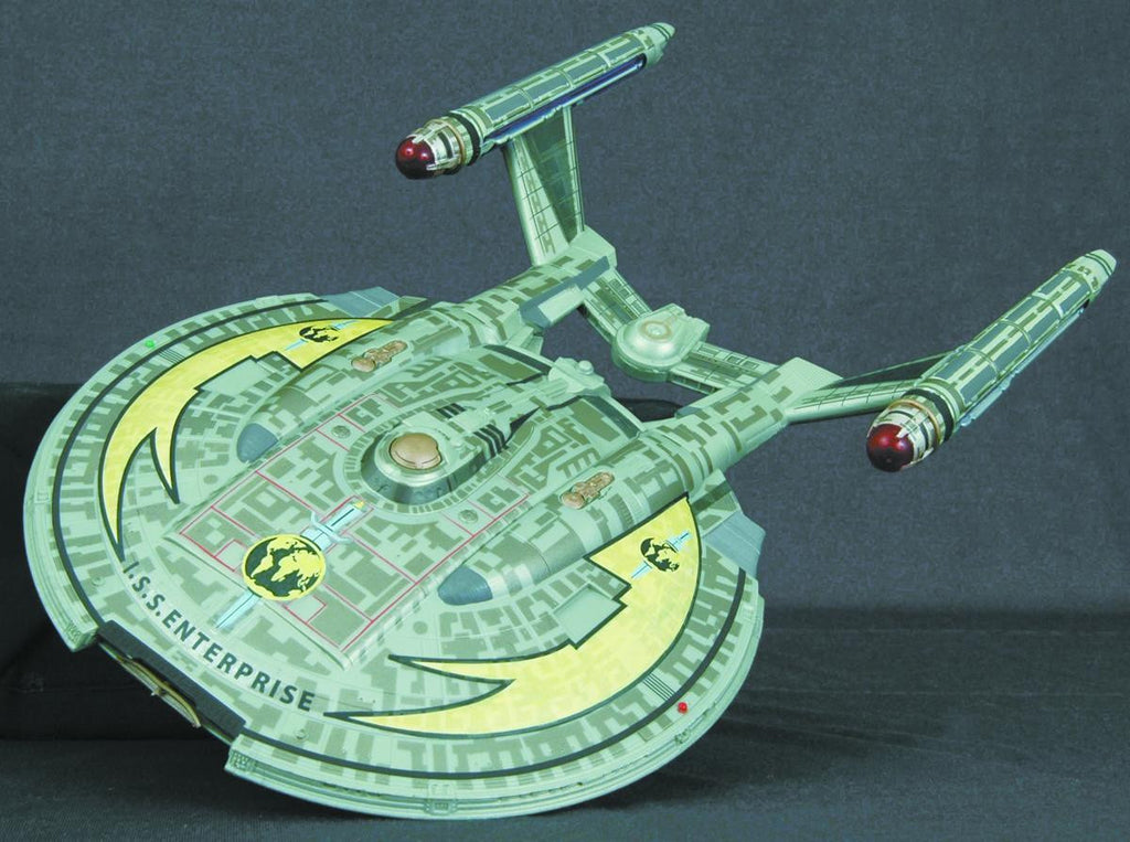 "Star Trek: Enterprise (TV) – I.S.S. Enterprise NX-01 Electronic 12"" Mirror Universe Starship"