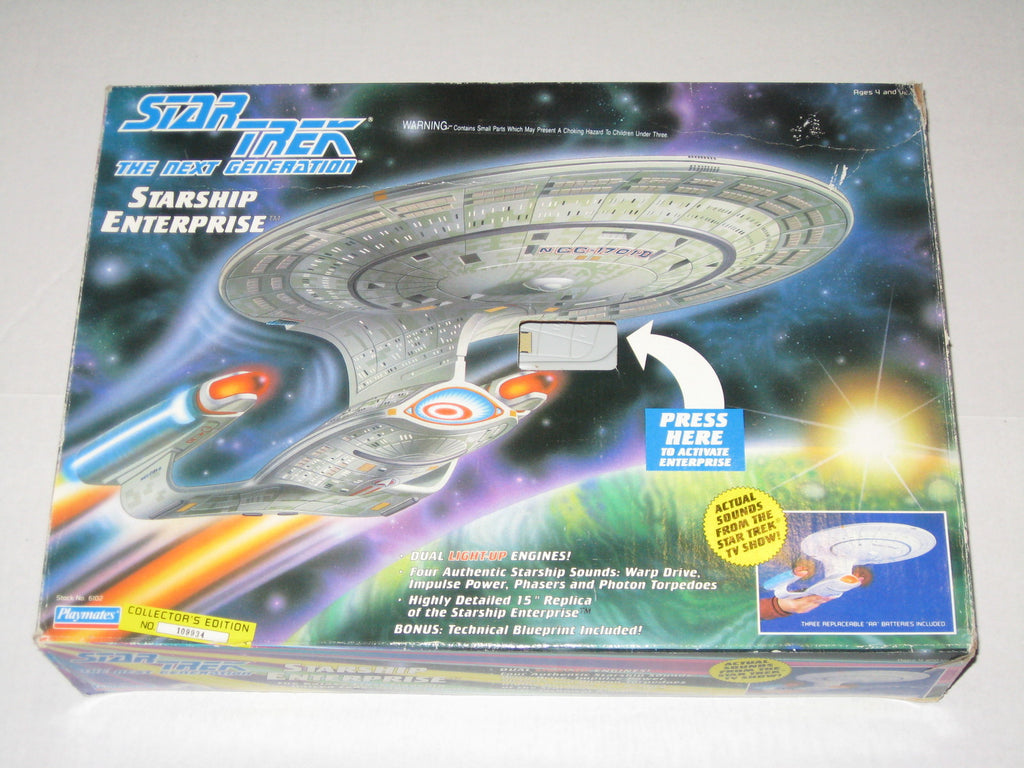"Star Trek: The Next Generation (TV) – Starship Enterprise Collector's Edition Electronic 15"" Starship"
