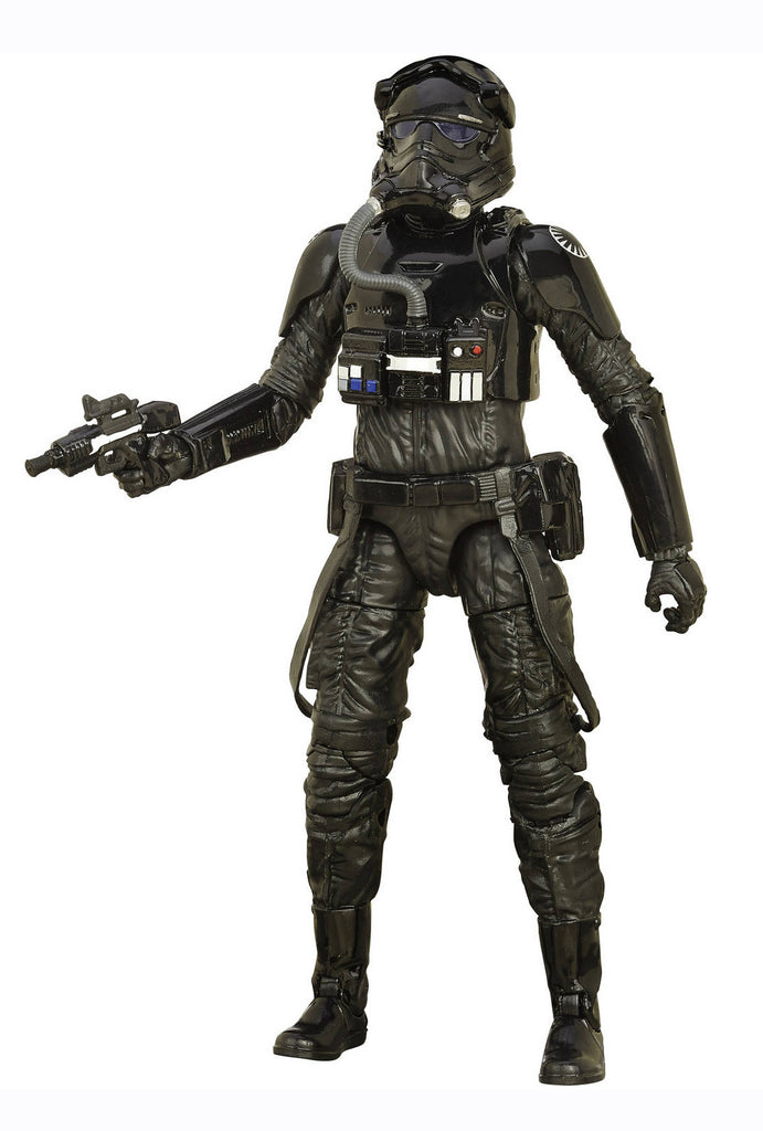 "Star Wars: The Black Series – Figure 11 – The First Order Tie Fighter Pilot 6"" Figure (Episode VII)"