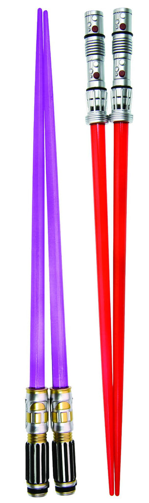 Star Wars – Lightsaber Chopsticks: Mace Windu & Darth Maul