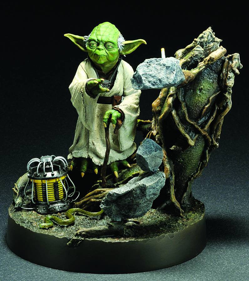 "Star Wars – ARTFX Full-Size Statue – Yoda ""The Empire Strikes Back"" Version Light-Up Statue"