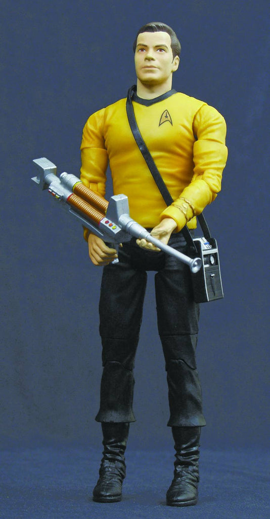 "Star Trek: Original Series (TV) – Wave 1 – Exclusive Premiere Edition – Captain Kirk 7"" Figure (SDCC 2003 Exclusive)"