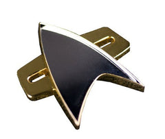 Star Trek: Voyager (TV) – Starfleet Combadge Prop Replica with Magnetized Backer
