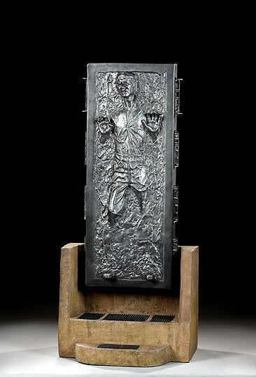 Star Wars – Han Solo Trapped in Carbonite – Light-Up 1:4 Scale Statue