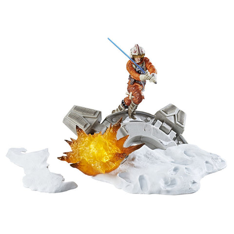 "Star Wars The Black Series – Luke Skywalker from ""The Empire Strikes Back"" Light-Up Centerpiece Statue"