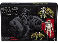 "Star Wars: The Black Series – Deluxe Figure and Vehicle 04 – Imperial Sandtrooper with Dewback 6"" Figures (Episode IV)"