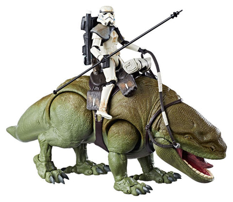 "Star Wars: The Black Series – Deluxe Figure – Imperial Sandtrooper with Dewback 6"" Figures (Episode IV)"