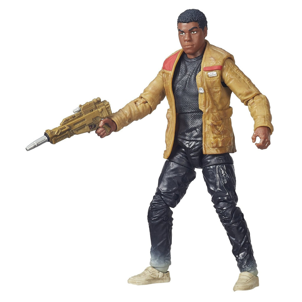 "Star Wars: The Black Series – Figure 01 – Finn (Jakku) 6"" Figure (Episode VII)"