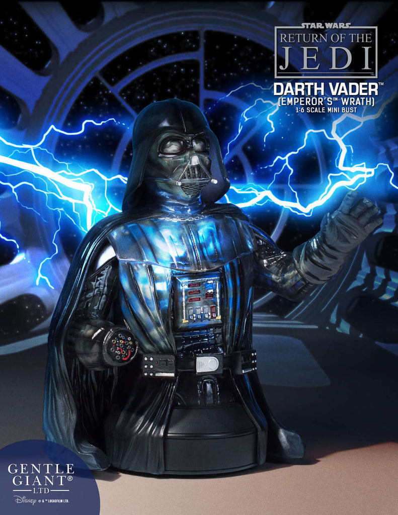 Star Wars – Episode VI, The Return of the Jedi – Darth Vader Emperor's Wrath Bust