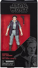 "Star Wars: The Black Series – Figure 52 – General Leia Organa 6"" Figure (Episode VII)"