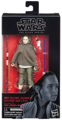 "Star Wars: The Black Series – Figure 58 – Rey (Island Journey) 6"" Figure (Episode VIII)"