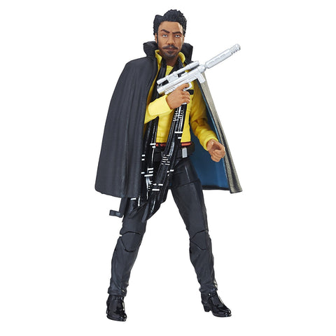 "Star Wars: The Black Series – Figure 65 – Lando Calrisian 6"" Figure (Solo; A Star Wars Story)"