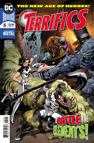 Terrifics (2018 series) #05-6 [SET] — Volume 1 (B): Element World