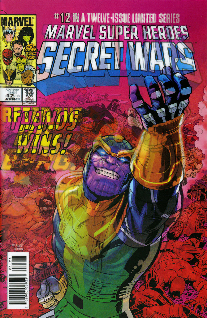 "Thanos (2016 Series) #13 (Variant ""3-D"" Lenticular Homage Cover - Jacen Burrows)"