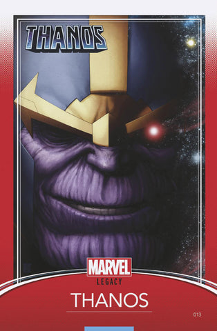 "Thanos (2016 Series) #13 (Variant ""Trading Card"" Cover - John Tyler Christopher)"