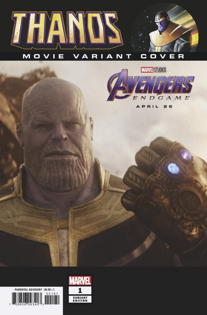 "Thanos (2019 mini-series) #1 (of 6) (Variant Incentive ""Movie"" Cover - Photo)"