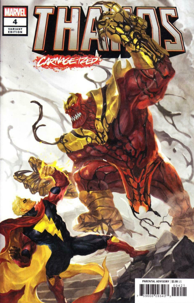 "Thanos (2019 mini-series) #4 (of 6) (Variant ""Carnage-ized"" Cover - Sunghan Yune)"