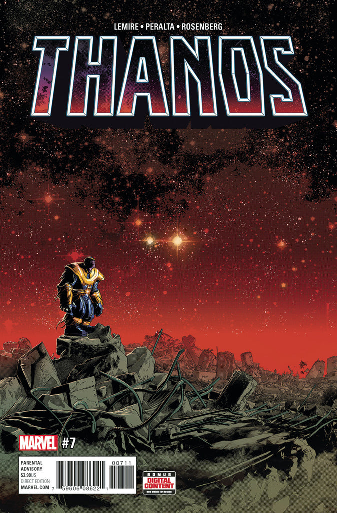 Thanos (2016 Series) #07-12 [SET] — Volume 02: The God Quarry