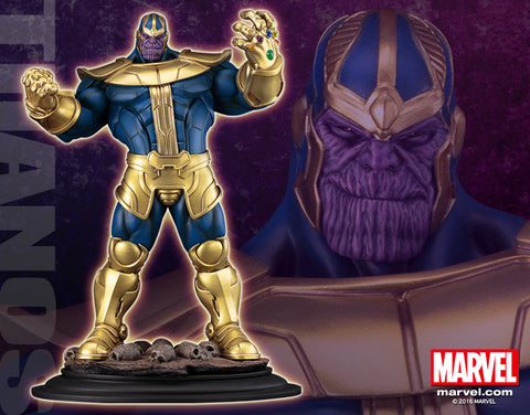 Marvel Universe – Thanos Fine-Art Full-Size Statue