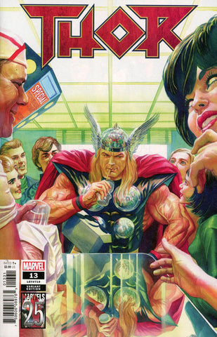 "Thor (2018 series) #13 (Variant ""Marvels 25th Anniversary"" Cover - Alex Ross)"