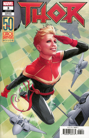"Thor (2018 series) #3 (Variant ""50 Years of Captain Marvel"" Cover - John Tyler Christopher)"