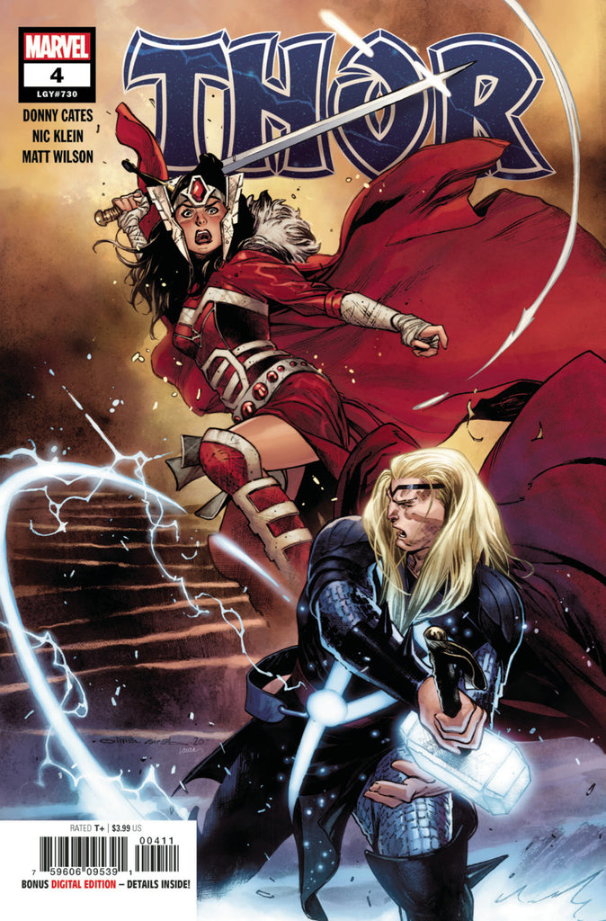 Thor (2019 series) #4 (Regular Cover - Olivier Coipel)