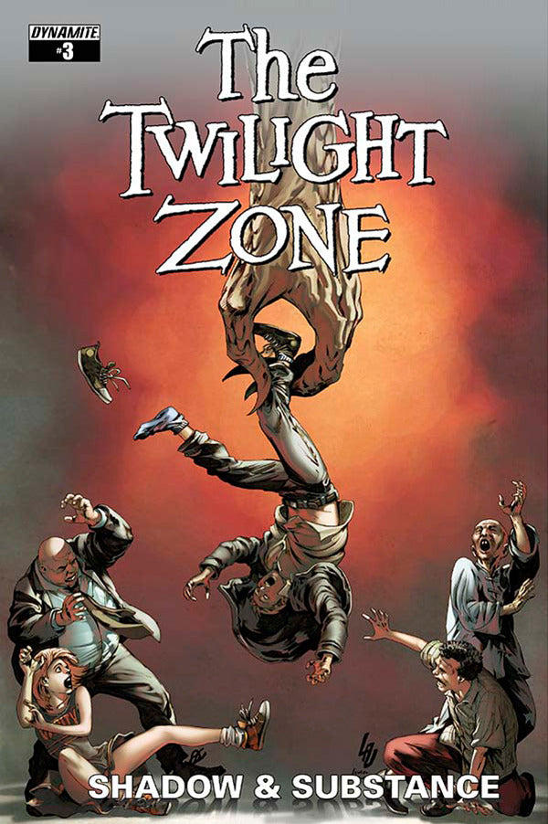 "Twilight Zone; Shadow & Substance (2015 mini-series) #3 (Variant ""C"" Subscription Cover - Jonathan Lau)"