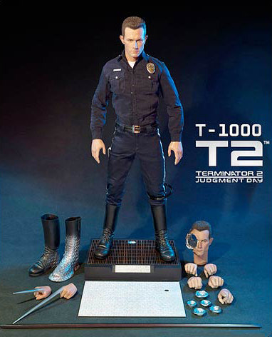 "Terminator 2: Judgement Day (Film) – Ultimate T-1000 7"" Figure"