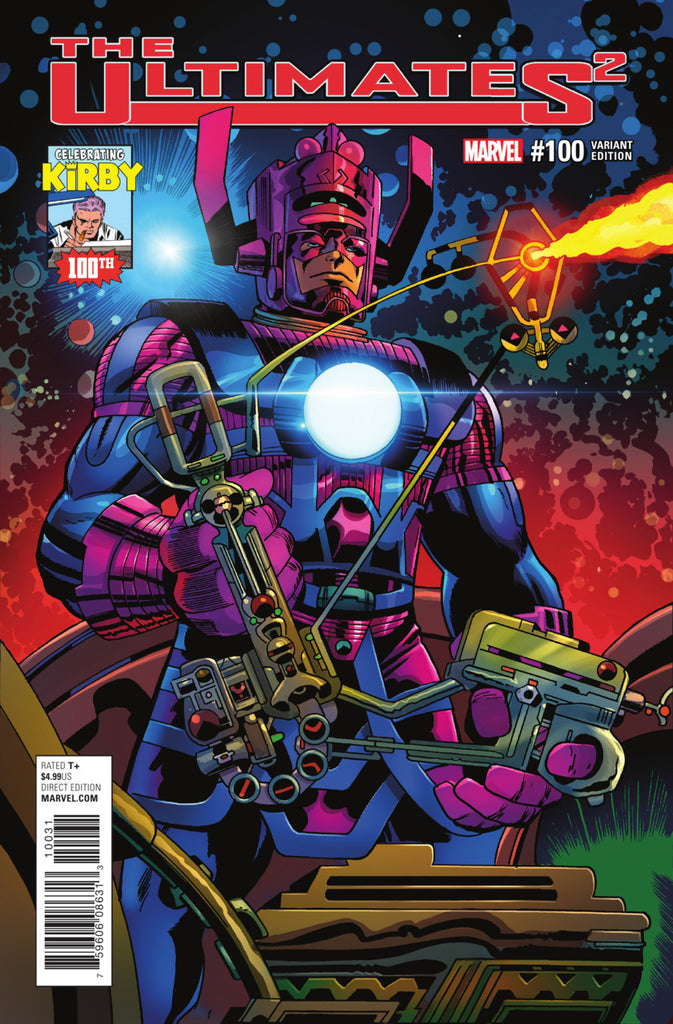 "Ultimates 2 (2016 Series) #100 (Variant Incentive ""Kirby 100"" Cover - Jack Kirby)"