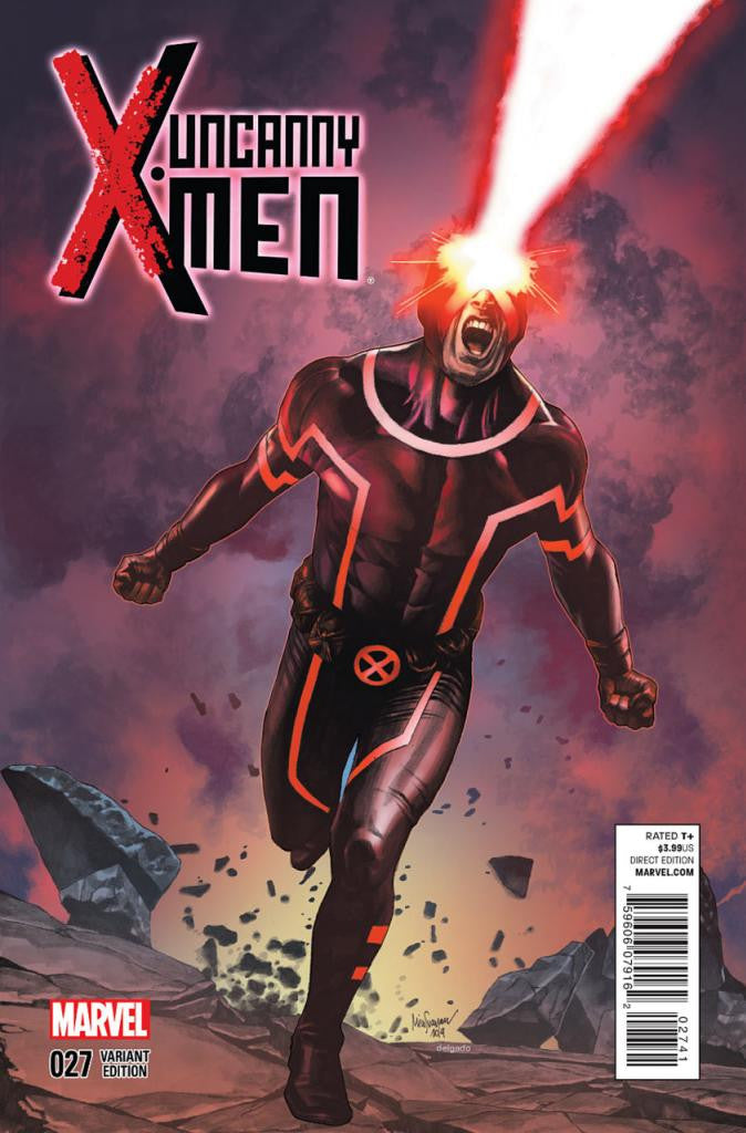 Uncanny X-Men (2012 Series) #27 (Variant Incentive Cover - Mico Suayan)