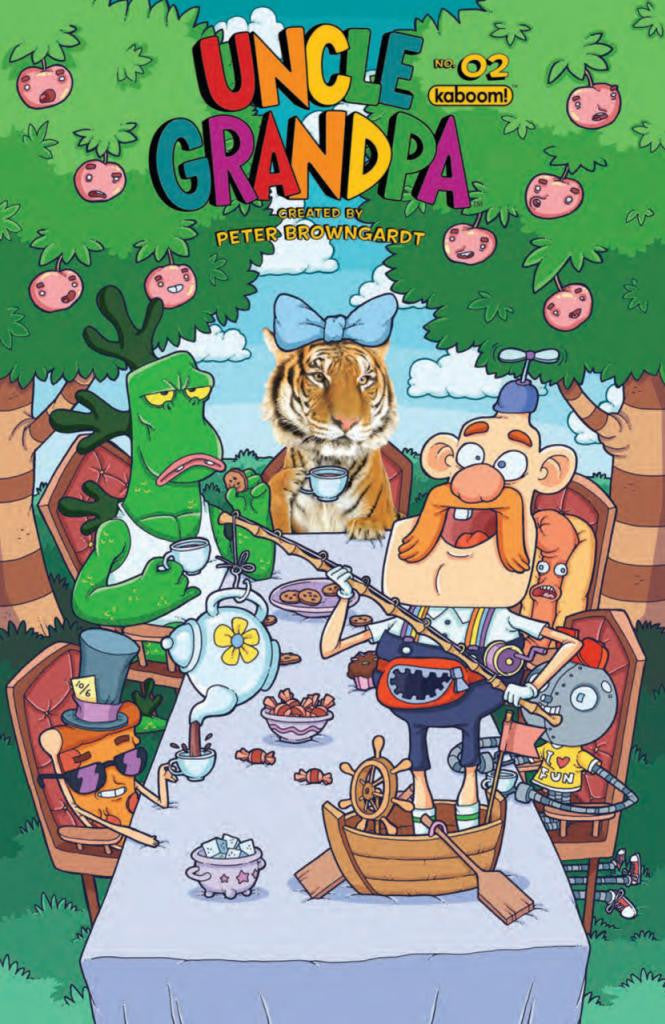 "Uncle Grandpa (2014 Series) #2 (Variant ""B"" Cover - Evgeny Yakovlev)"
