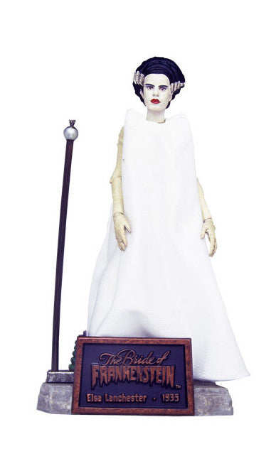 "Universal Monsters – Sideshow Classics Edition – Series 2 – Bride of Frankenstein (Film) – Elsa Lanchester as The Bride of Frankenstein 8"" Figure"