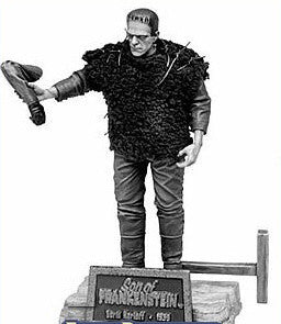 "Universal Monsters – Silver Screen Edition – Series 4 – Son of Frankenstein (Film) – Boris Karloff as The Frankenstein Monster  Black & White 8"" Figure"