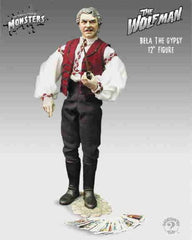 "Universal Monsters – Collector's 12"" Figure Series – Wolf Man (Film) – Bela Lugosi as Bela the Gypsy 12"" Figure"