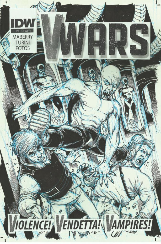 V-Wars (2014 Series) #7 (Variant Incentive Cover - Alan Robinson)