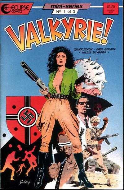Airboy: Valkyrie! (1987 mini-series) #1-3 [SET] — Prisoner of Her Past